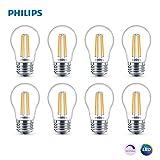 フィリップス LED 調光可能 A15 電球 300ルーメン 2700ケルビン 4.5ワット (40ワット相当) E26ベース クリア ソフトホワイト 8個パック