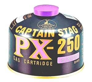キャプテンスタッグ パワーガスカートリッジ PX-250 M-8406