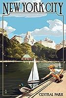 ニューヨーク市、ニューヨーク–セントラルパーク 16 x 24 Giclee Print LANT-50293-16x24