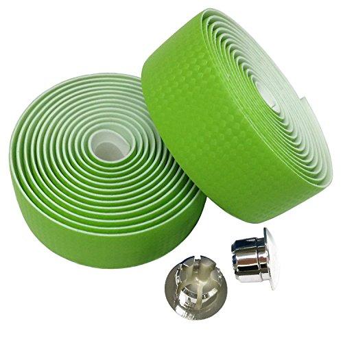 ENGG カーボンタイプPUレザー 滑り止めバーテープ 自転車 ロード ピスト ハンドルバーテープ