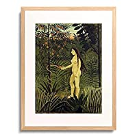 アンリ・ルソー Henri Julien Félix Rousseau 「イブ(エヴァ) Eve. 1904-05」 額装アート作品