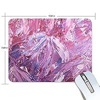 Jiemeil マウスパッド 水彩 紫 ラバー 高級感 おしゃれ 滑り止め PC  かっこいい かわいい プレゼント ラップトップ MacBook pro/DELL/HP/SAMSUNG などに プレゼント