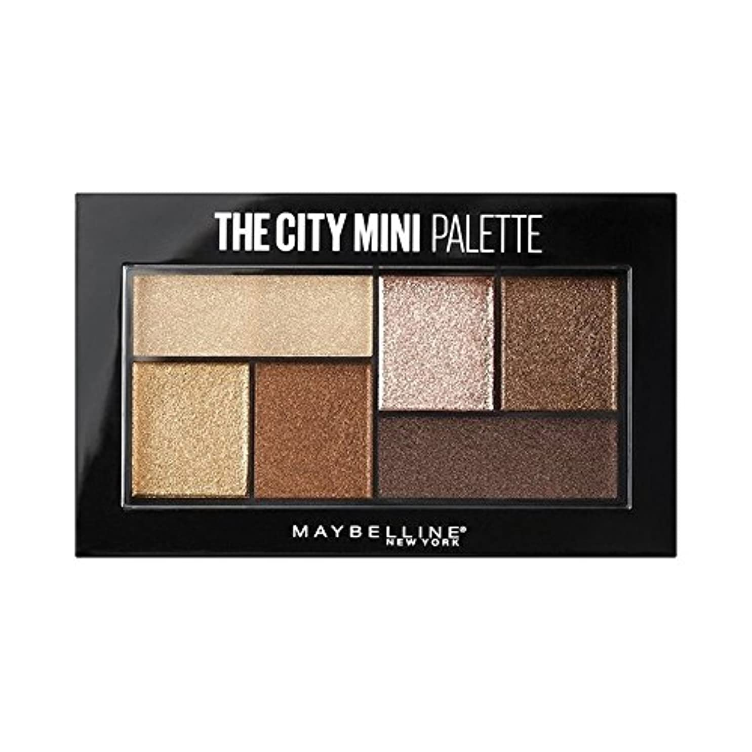 追放料理滅多(3 Pack) MAYBELLINE The City Mini Palette - Rooftop Bronzes (並行輸入品)