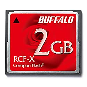BUFFALO コンパクトフラッシュ2GB RCF-X2G