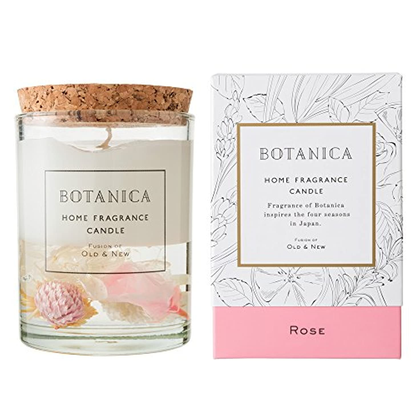BOTANICA キャンドル ローズ ROSE CANDLE ボタニカ old&new オールドアンドニュー