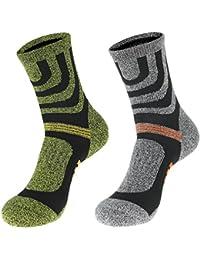 EOZY メンズ ソックス スポーツソックス 運動着 靴下 サッカーソックス 男性用 ストッキング カジュアル くつ下 滑り止め 2足セット