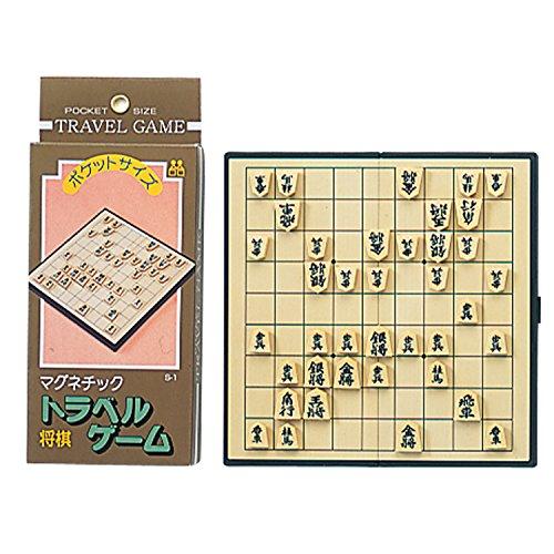 トラベルゲーム【将棋】 ボードゲーム ミニゲーム ポケットサイズ マグネット 携帯ゲーム