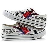 Tokyo Ghoul金木ケンKirishima Toukaコスプレ靴キャンバスシューズカジュアルスニーカー3Choices