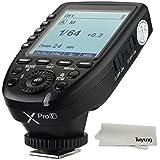 【正規品 技適マーク付き日本語説明書付】Godox Xpro-F 2.4G ワイヤレスフラッシュトリガー 高速同期1 / 8000s Xシステム内蔵 超大LCDスクリーントランスミッタ付き 富士フイルムデジタルカメラ用