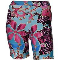 Private Island Hawaii Women UV Rash Guard Skinny Shorts Pants Leggings, Outdoor Yoga Clothing/YSP