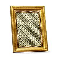 Belcraft Altamuraウッドイタリアンフレーム、手作りのクラシックイタリアンスタイル、5インチ7インチ写真、ギフト用の箱、ゴールド