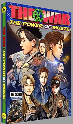 韓国語Ver (翻訳付) EXO 4集 リパッケージ [THE WAR:THE POWER OF MUSIC](韓国盤)(先着公式グッズ特典付き)(初回ポスター/特典付)(ワンオンワン店限定)
