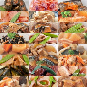 レトルト 和風 煮物 たっぷり豪華24種類詰め合わせセット (和食 煮物 おかず 惣菜)...