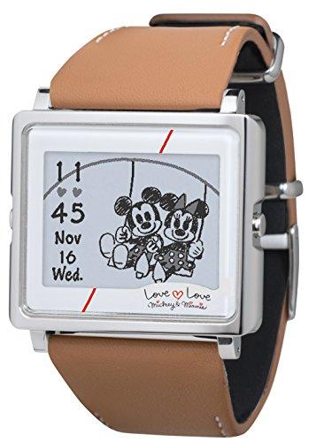 [エプソン スマートキャンバス]EPSON smart canvas ミッキー&ミニー ラブラブシリーズ スムースレザー 腕時計 W1-DY10310の詳細を見る