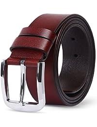 [ヤヨイ]YAYOIベルト ブランド メンズ ビジネス カジュアル 本革 ロング サイズ調整可能 紳士 バックル