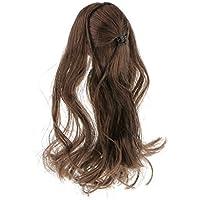 【ノーブランド品】1:6スケール 夢想家 アジア 女性 長い 髪 美しい ヘッド 12インチ フィギュア フィット
