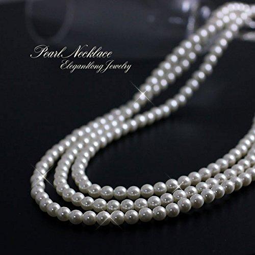 Barzaz ロング パールネックレス ロングネックレス アクセサリー レディース pearl neckless ladies lady's 2連