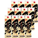 本格芋焼酎 黒伊佐錦(黒麹)25度1800mlパック 2ケース(12本)