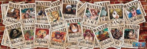 950ピース ジグソーパズル ONE PIECE 賞金首の海賊たち (34x102cm)