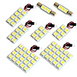 【断トツ222発!!】 Z51系 ムラーノ LED ルームランプ 8点セット [H20.9~] ニッサン 基板タイプ 圧倒的な発光数 3chip SMD LED 仕様 室内灯 カー用品 HJO