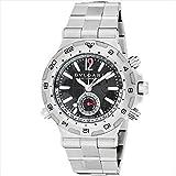 (ブルガリ) BVLGARI ブルガリ 時計 メンズ BVLGARI DP42C14SSDGMT ディアゴノプロフェッショナル 自動巻き 腕時計 ウォッチ シルバー/フ..