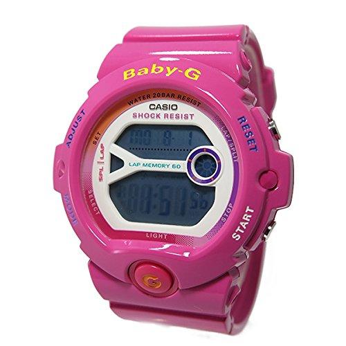 ≪Baby-G≫For Running 200m防水 デジタル プラベルトウォッチ レディース向(BG-6903-3 BG-6903-4B BG-6903-7C) (BG-6903-4B(ピンク))