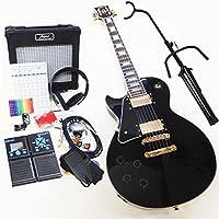 エレキギター初心者 Blitz BLP-CST-LH BK 左利き専用入門セット16点レフトハンド