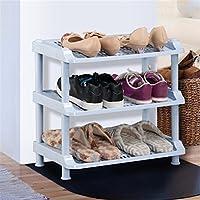 シューズラック- 靴ラックプラスチックシンプルな収納キャビネット家具クリエイティブシンプルオーガナイザー棚 (サイズ さいず : 3tier)