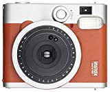 FUJIFILM インスタントカメラ チェキ instax mini 90 ネオクラシック ブラウン INSTAX MINI 90 BROWN 画像