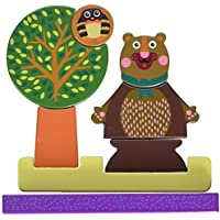 Oops My Magnetic Puzzle with Chocolat - Encourages Imaginative and Mental Development - Safe and Easy Clean - 8-Piece - Ages 3 and Up by Oops