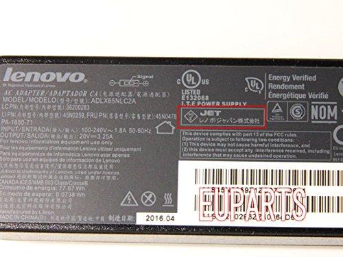 Lenovo レノボ 純正 ThinkPad X240 X250 X1 Carbon IdeaPad Yoga 20V 3.25A 65W ACアダプター  国内2pin仕様