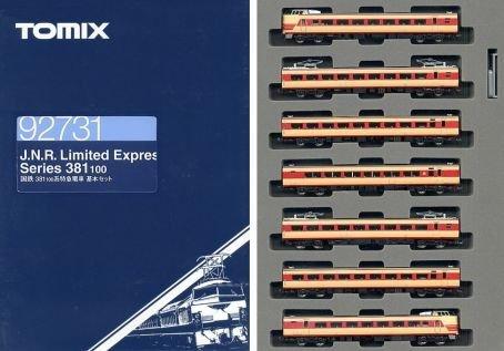 Nゲージ車両 381 100系特急電車 基本セット 92731