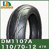 即納【ダンロップOEM】DURO製タイヤ DM1107A 110/70-12 47R TL グランドアクシス、シグナスX等