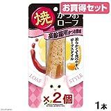 Amazon.co.jpお買得セット いなば 焼かつおローフ 高齢猫用 かつお節味 1本 キャットフード おやつ お買い得2個入