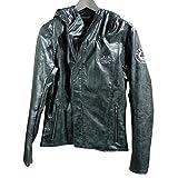 ACE CAFÉ LONDON SC PU Leather Hooded JK BK WM
