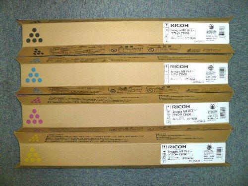 RICOH リコー imagio MPトナー C2500 / C3000 4色セット 国内純正品