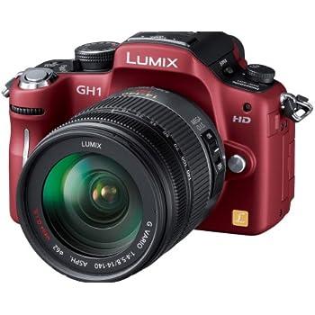Panasonic デジタル一眼カメラ LUMIX GH1 レンズキットコンフォートレッド DMC-GH1K-R