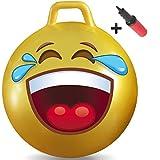 WALIKI Toys 子供用ホッパーボール Ages 10-15 (Teenagers) JBXL-EMOJI-02