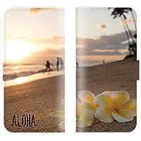 【 ankh 】 手帳型ケース 全機種対応 【 GALAXY J SC-02F ギャラクシー J SC-02F専用 】 ハワイアン flower 花 hawaii ビーチ ハワイ 海 ハイビスカス ブック型 二つ折り レザー 手帳カバー スマホケース スマートフォン