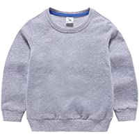 「Bidear」子供服 女の子 男の子 Tシャツ スウェット キッズ ベビー トレーナー 春秋冬 7色 90~140cm