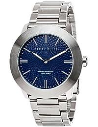 [ペリー・エリス]Perry Ellis 腕時計 SLIM LINE(スリム・ライン) クォーツ 46 mmケース ステンレススティールバンド 03002-02 メンズ 【正規輸入品】
