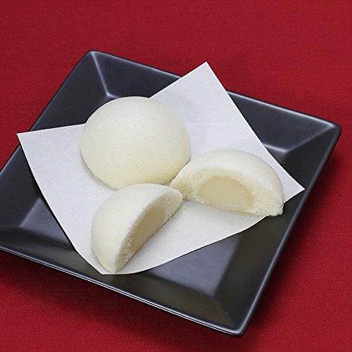 佐藤商事 もっちりまんじゅう もっちりミルクまんじゅう(白黒各3個)6個入り