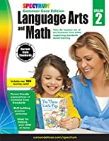 Spectrum Language Arts and Math, Grade 2: Common Core Edition