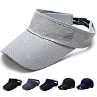 SHANLIANG キャップ 帽子 夏 秋 メッシュキャップ 通気性抜群 日除け UVカット 紫外線対策 男女兼用 登山 釣り ゴルフ 運転 アウトドアなどに 野球帽 無地 (C-グレー)