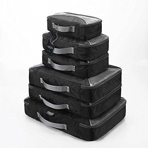 3a96b2b69e G4Free スーツケース アレンジケース 6点セット オーガナイザー トラベル ポーチ 整理整頓 インナーバッグ 出張