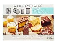 Wilton ever-glide 5Piece Non Stick Bakeware Set
