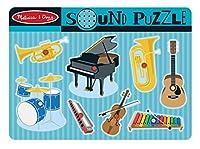 Melissa & Doug - 10732 - Puzzle En Bois Sonore - Instruments Musicaux - 8 Pièces