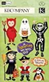 K & Company Kelly Panacci Halloween Trick-or-Treater Grand Adhesions Stickers