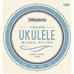 D'Addario ダダリオ ウクレレ弦 Pro-Arté Rectified Black Nylon Tenor EJ53T 【国内正規品】