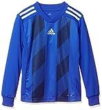 [アディダス] 長袖シャツ サッカーウェア STRIPED 19 トレーニングジャージー FRX87 [ボーイズ] ボールドブルー/ホワイト (DP3208) 日本 J/140 (日本サイズ140 相当)